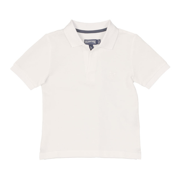 Vilebrequin Boys White Boys Pantin Pique Polo Shirt main image