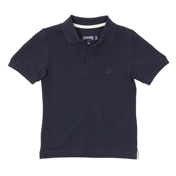 Vilebrequin Boys Blue Boys Pantin Pique Polo Shirt main image