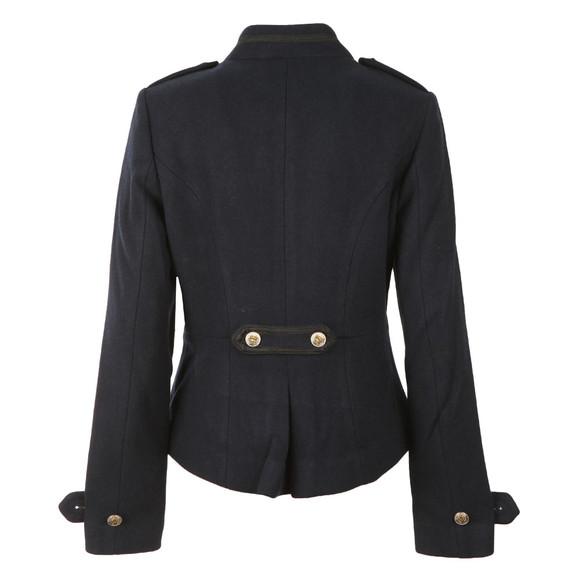 Maison Scotch Womens Blue Bell Boy Wool Jacket main image