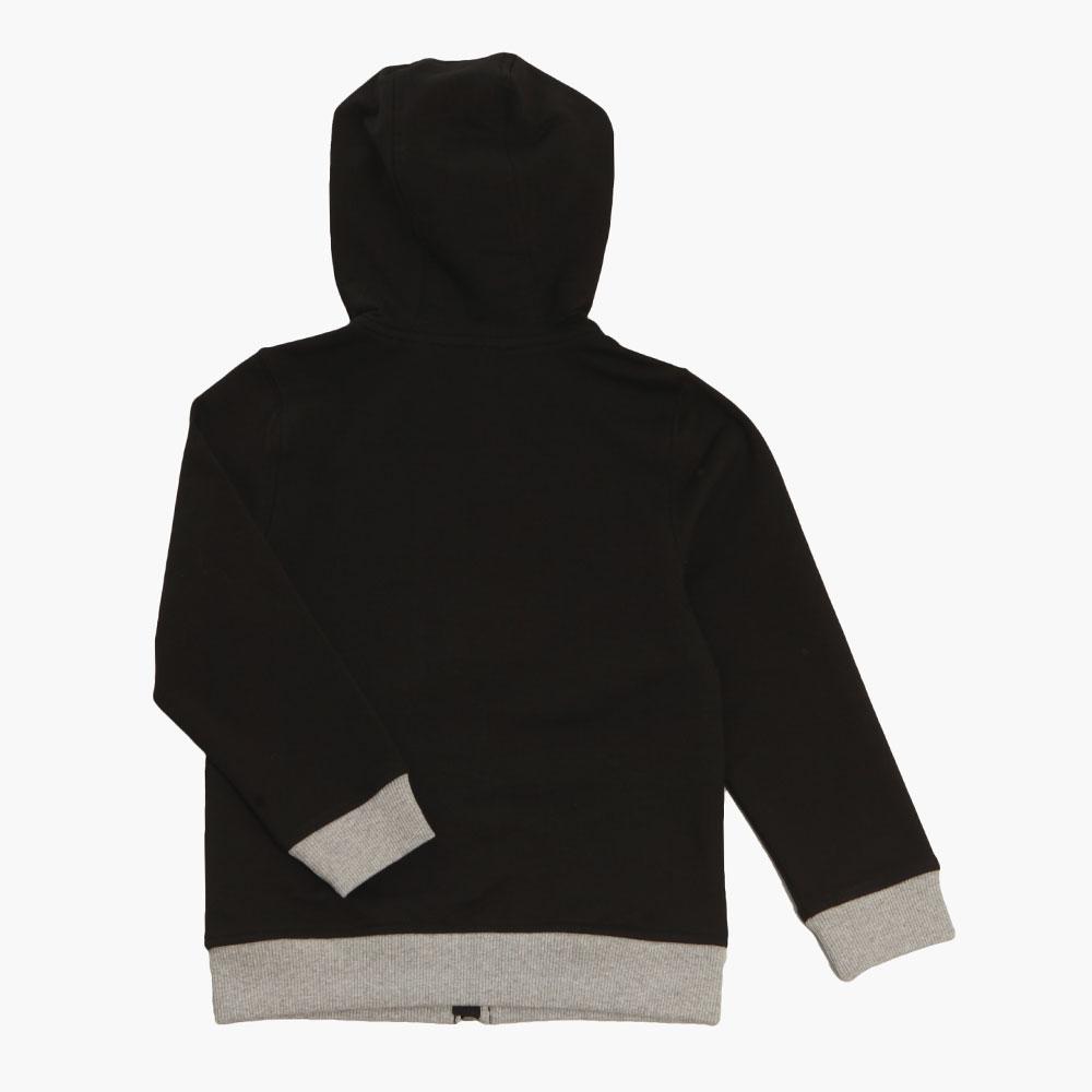 Boys Full Zip Logo Hooded Sweat main image