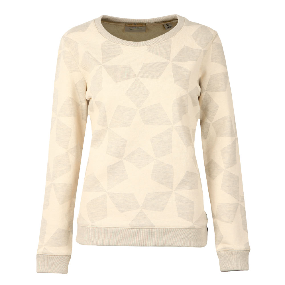 Allover Star Print Sweat main image