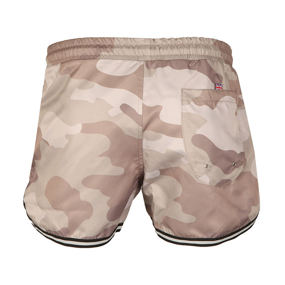 Good For Nothing Mens Grey Camouflage Swim Shorts main image