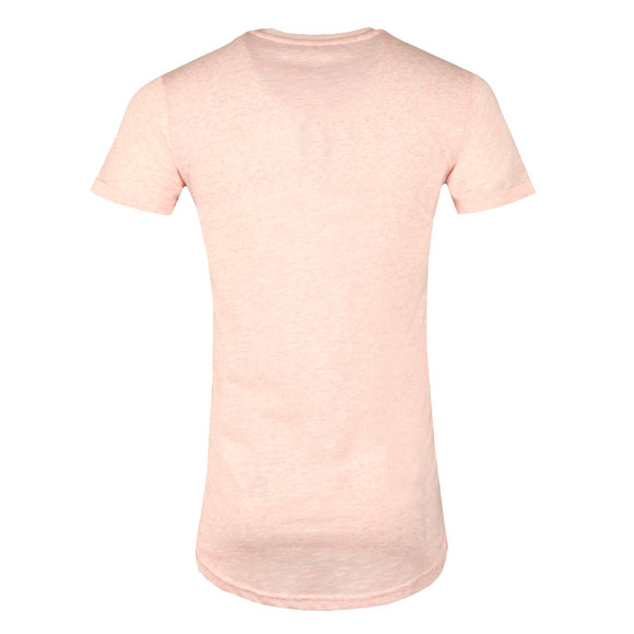 Good For Nothing Mens Pink Marl T Shirt main image