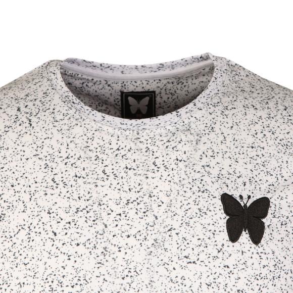 Good For Nothing Mens White Asphalt Speckle T Shirt main image