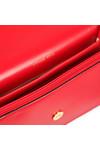 Michael Kors Womens Red Daniela Large Crossbody