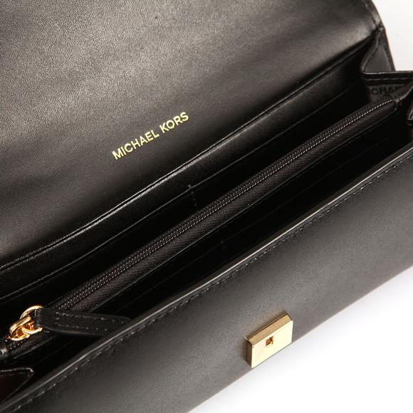 Michael Kors Womens Black Mott Carryall Purse main image