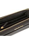 Michael Kors Womens Black Mercer Pocket Zip Around Continental Purse