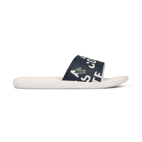 Lacoste Mens White L.30 Slide main image