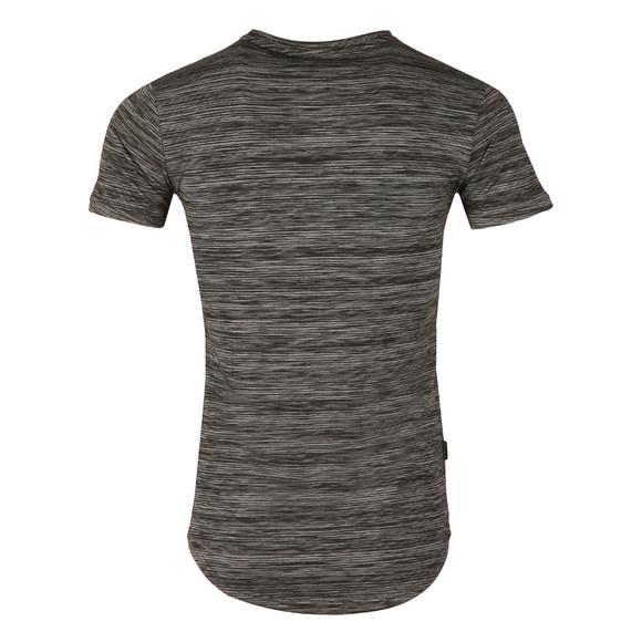 Gym king Mens Black SS Space Dye T-Shirt main image