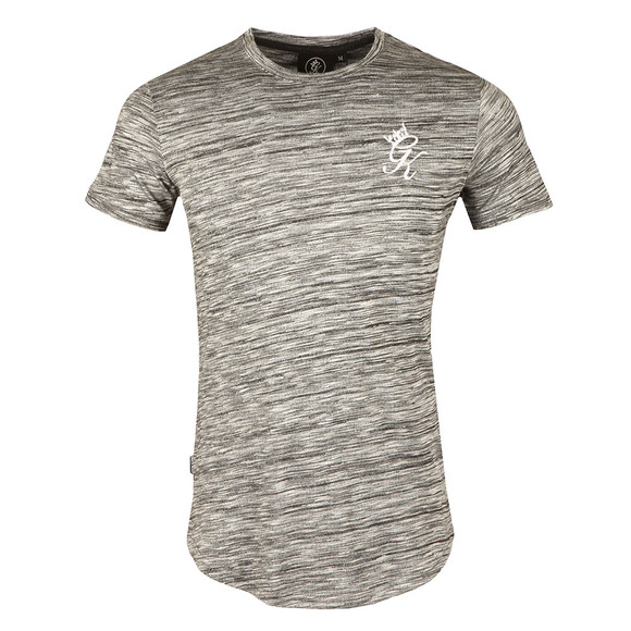 Gym king Mens Grey SS Space Dye T-Shirt main image