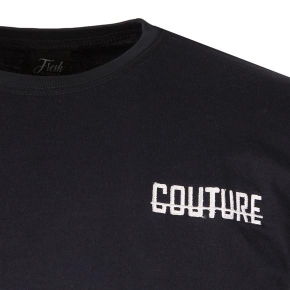 Fresh Couture Mens Blue Small Logo T Shirt main image