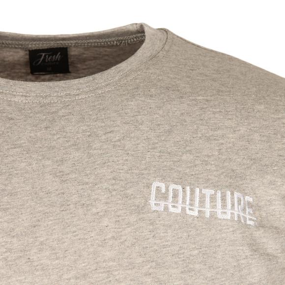 Fresh Couture Mens Grey Small Logo T Shirt main image