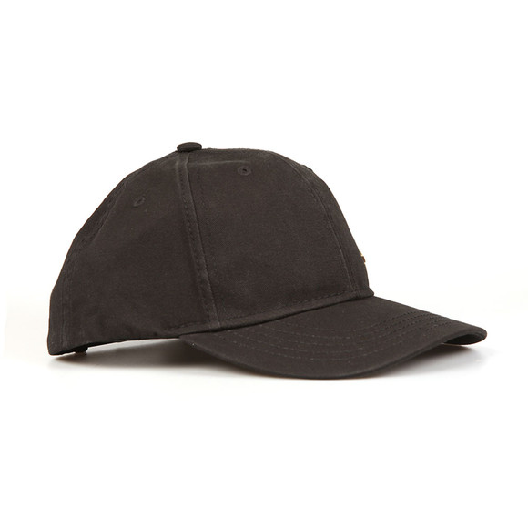 True Religion Mens Black Core Metal Logo Cap main image