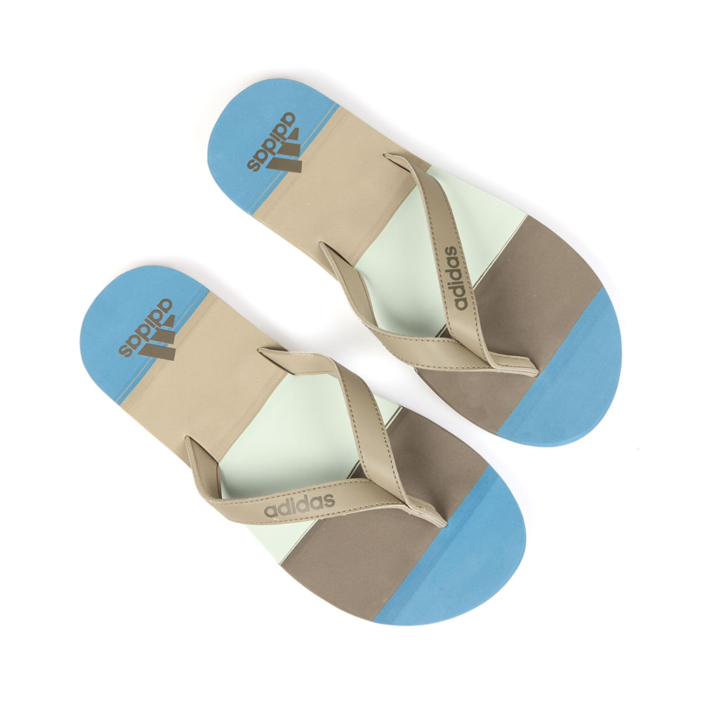 Eezay Striped Flip Flops main image
