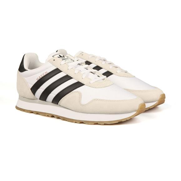 Adidas Originals Mens White Haven Trainers main image