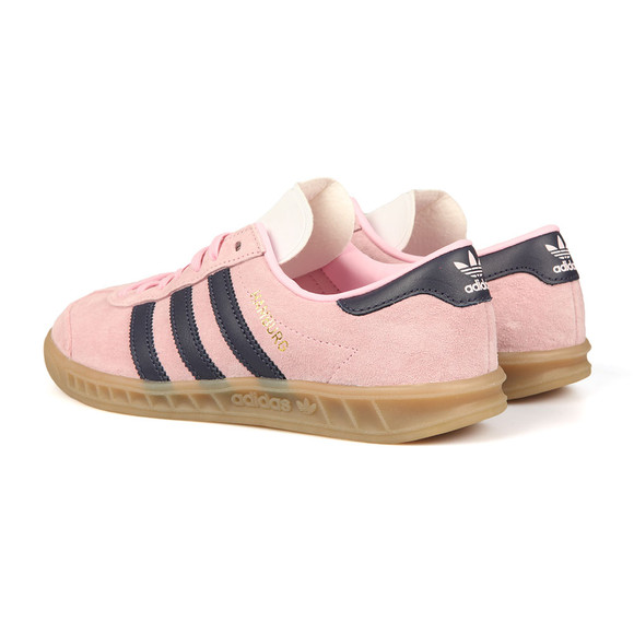 Adidas Originals Womens Pink Hamburg Trainer main image