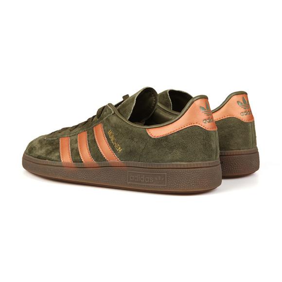 Adidas Originals Mens Green Munchen Trainer main image
