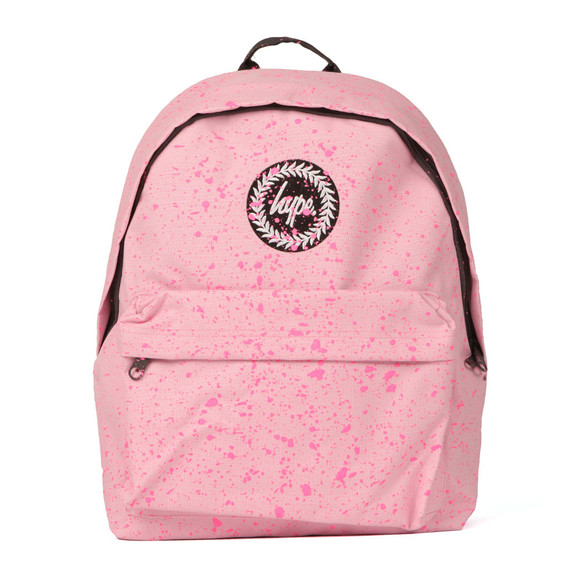 Hype Unisex Baby Pink/pink Speckle Backpack main image