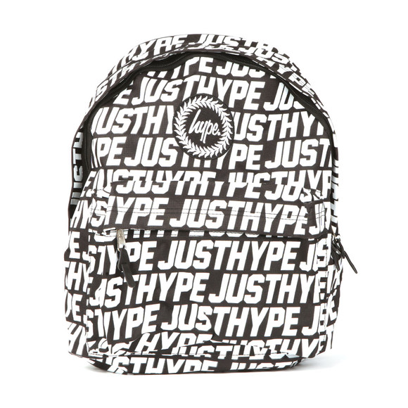 Hype Unisex Black Sporting Just Hype Backpack main image
