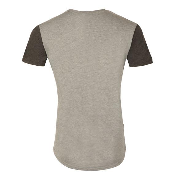 Gym king Mens Grey James Contrast T Shirt main image