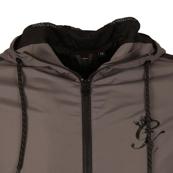 Gym king Mens Grey Windbreaker Jacket main image