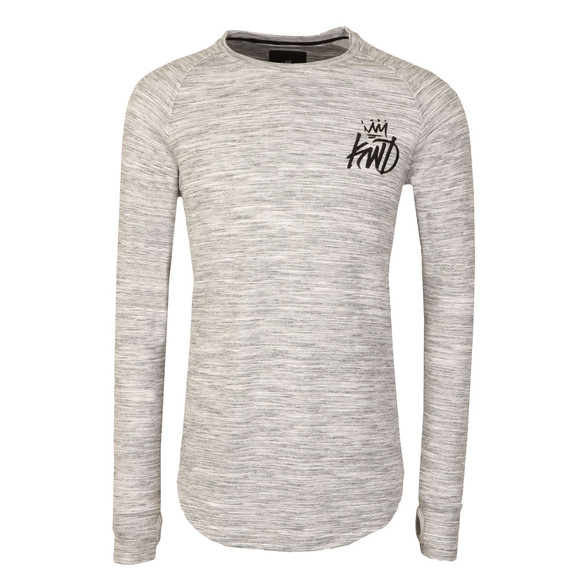 Kings Will Dream Mens Grey Arvens Long Sleeve T Shirt main image