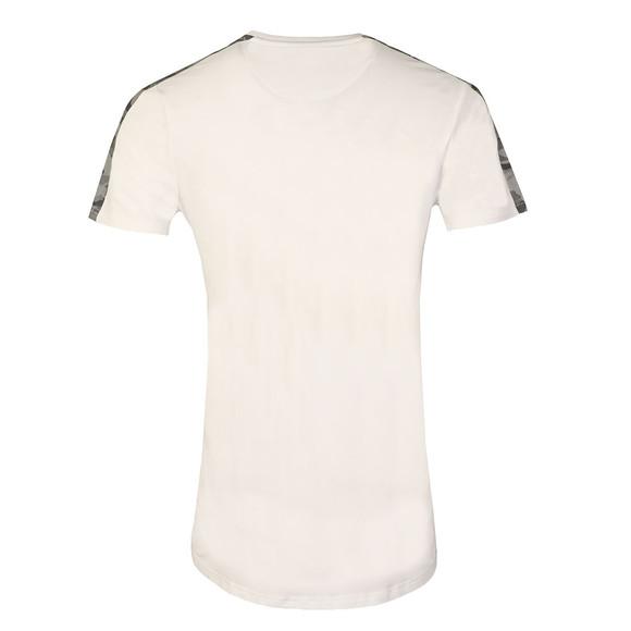 Kings Will Dream Mens White Kione Reflect Panel T Shirt main image