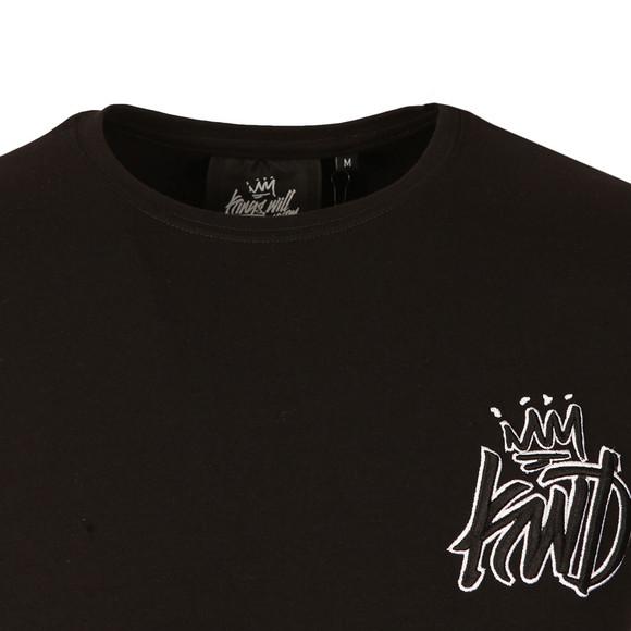 Kings Will Dream Mens Black Risley T Shirt main image