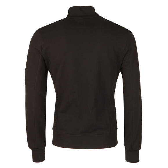 CP Company Mens Black Full Zip Sweat main image