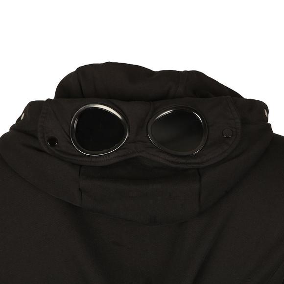 CP Company Mens Black Full Zip Goggle Hoody main image
