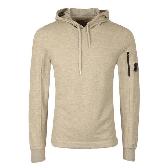 CP Company Mens Grey Viewfinder Sleeve Overhead Hoody main image