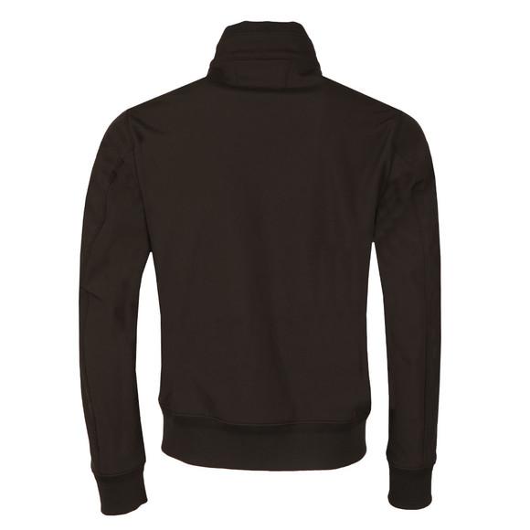 CP Company Mens Black Soft Shell Harrington Jacket main image