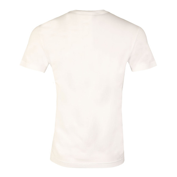 Lacoste Mens White S/S TH6996 Logo Tee main image