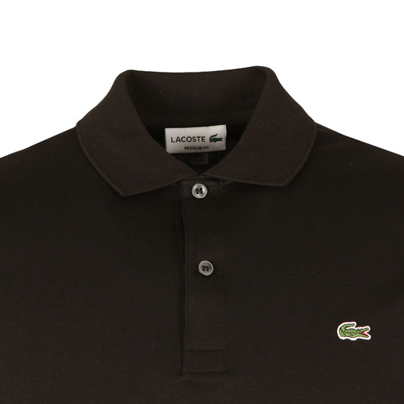 Lacoste Mens Black S/S DH2050 Polo main image