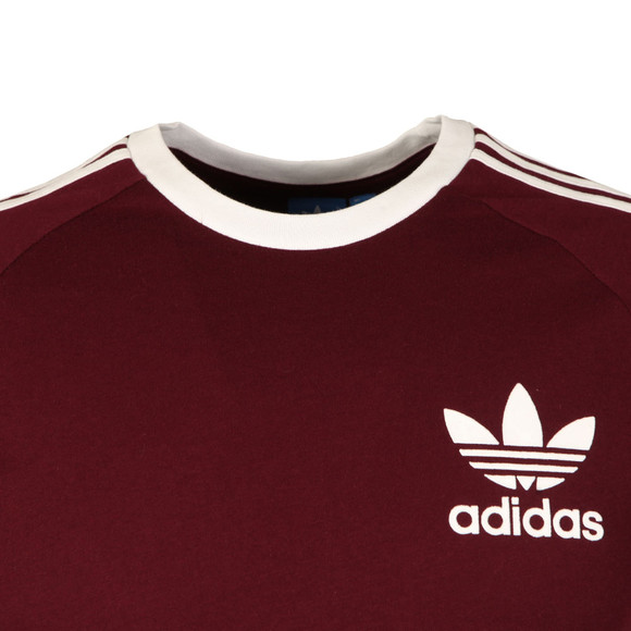 Adidas Originals Mens Red California SS Tee main image