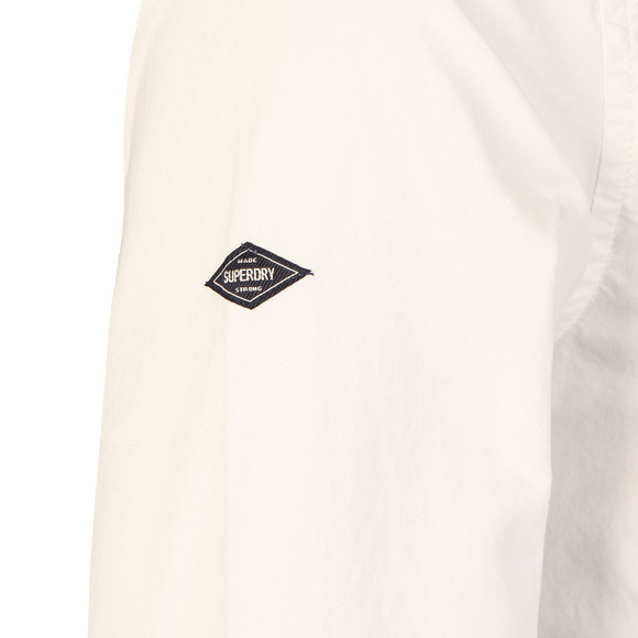 Superdry Mens White L/S Ultimate Oxford Shirt main image