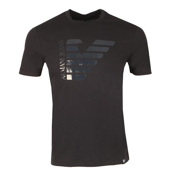 Armani Jeans Mens Blue 6Y6T23 Logo T Shirt main image