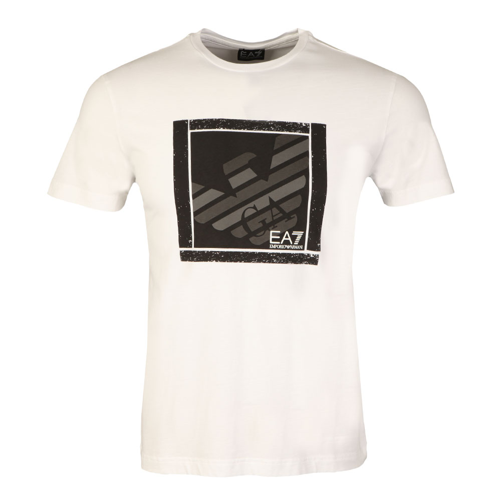 Large Square Logo T Shirt main image