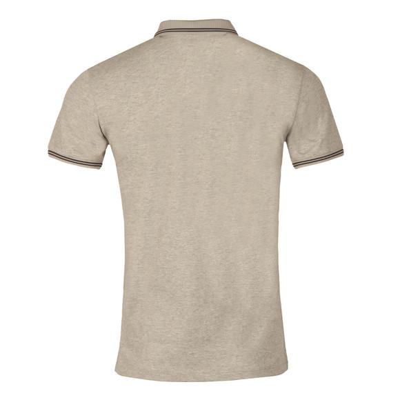 Armani Jeans Mens Grey Tipped Polo Shirt main image
