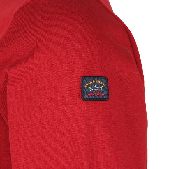 Paul & Shark Mens Red Small Logo Sweatshirt main image
