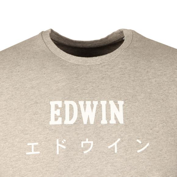Edwin Mens Grey Japan T Shirt main image