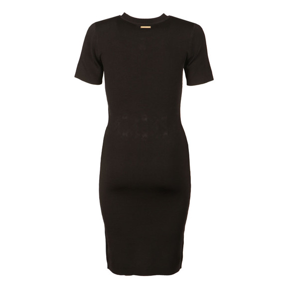 Michael Kors Womens Black Lace Detail Dress main image