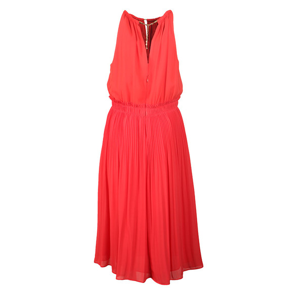 Michael Kors Womens Red Chain Neck Dress main image