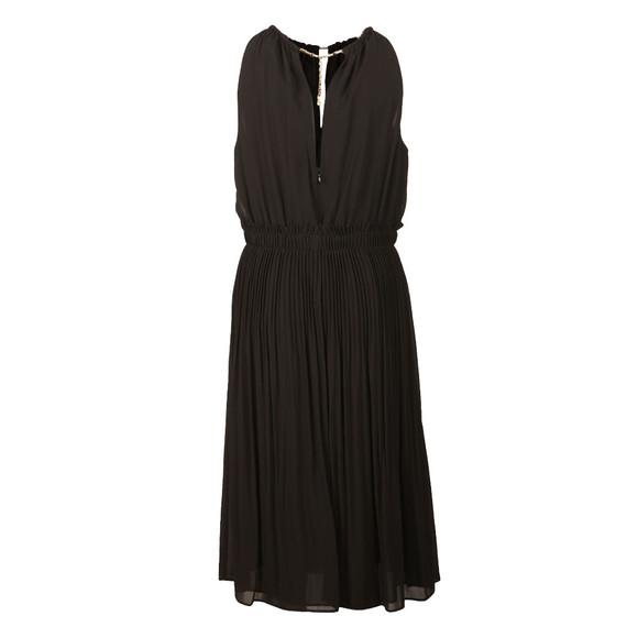 Michael Kors Womens Black Chain Neck Dress main image