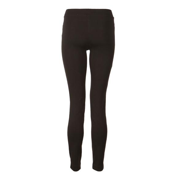 Michael Kors Womens Black Sleek Zip Ponte Pant main image