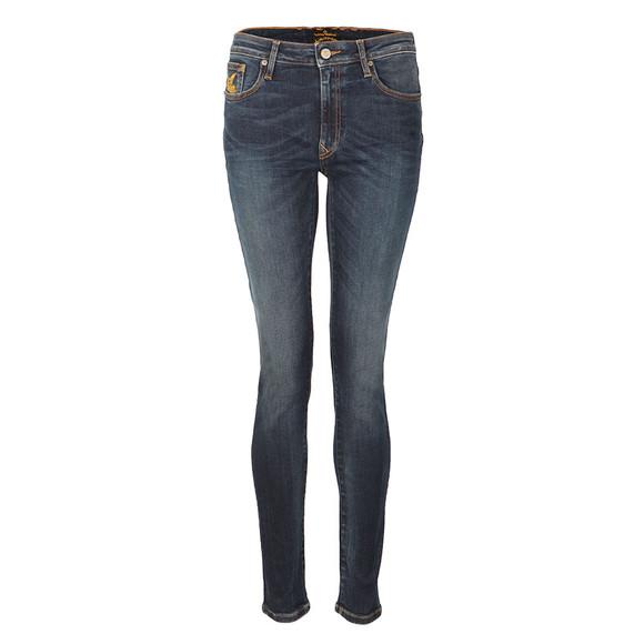 Vivienne Westwood Anglomania Womens Blue Super Skinny Jean main image