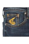 Vivienne Westwood Anglomania Womens Blue Super Skinny Jean