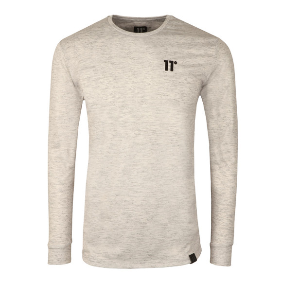 Eleven Degrees Mens Grey Composite Long Sleeve T-Shirt main image