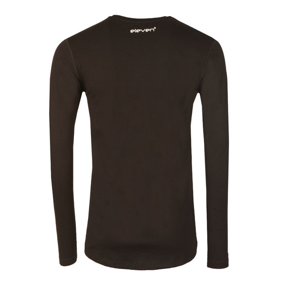 Eleven Degrees Mens Black Core Long Sleeve T-Shirt main image
