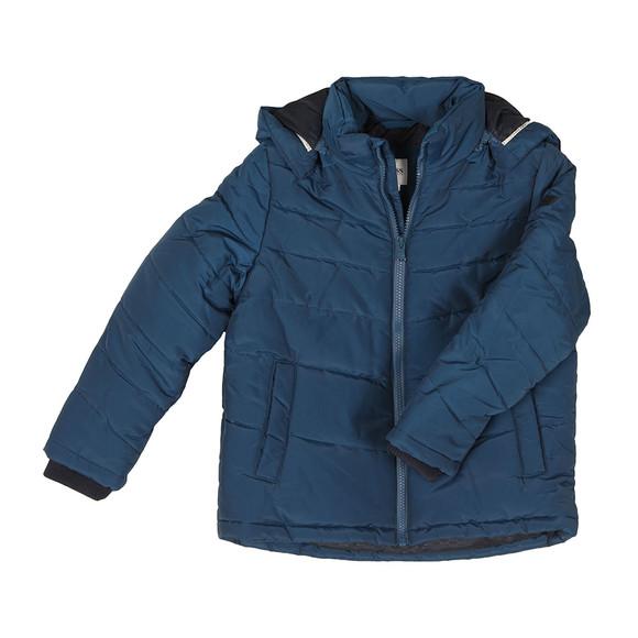 Boss Boys Blue J26324 Puffer Jacket main image
